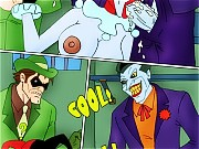 Harley gets fucked by Joker in prison
