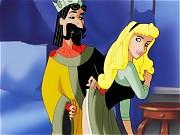 King Stefan fucks Aurora with his royal cock