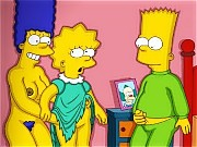 Behind the scene porn from the Simpsons TV show